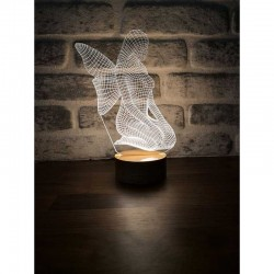 3D Angel Lamp Design