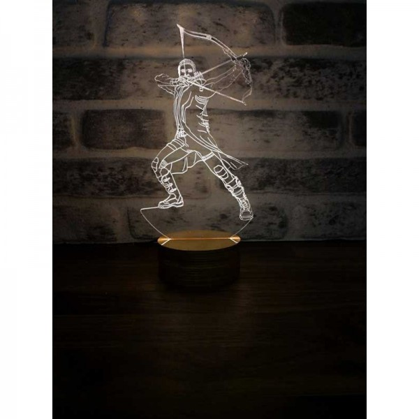 3D Arrow Lamp