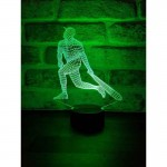 3D Baseball Led Lamp