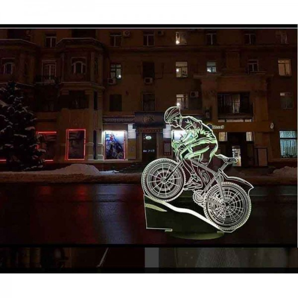 3D Bicycle Lamp