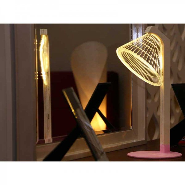 3D Conic Design Table Lamp