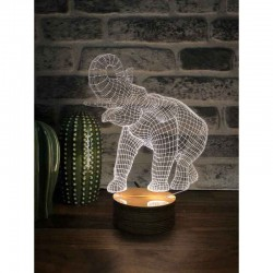 3D Elephant Led Lamp