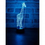 3D Giraffe Led Lamp