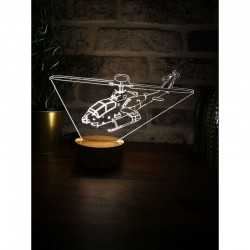 3D Helicopter Lamp