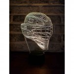3D Ice Hockey Helmet Lamp