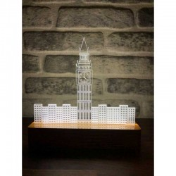 3D London Big Ben Lamp