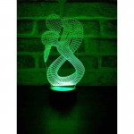 3D Lovers Lamp