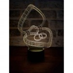 3D Marriage Proposal Lamp