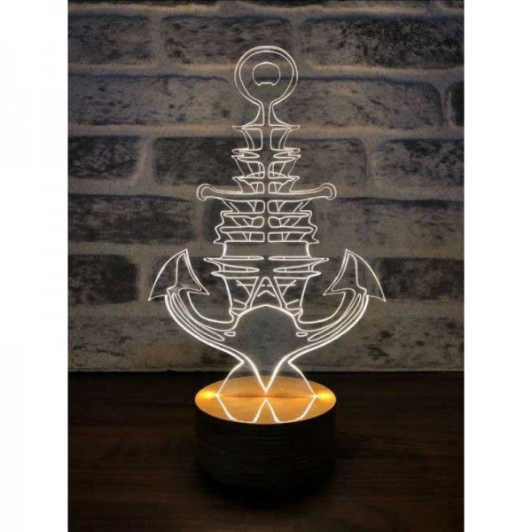 3D New Anchor Lamp