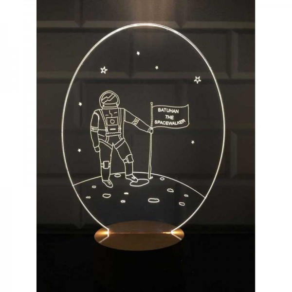 3D New Astronaut Lamp