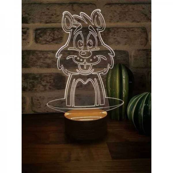 3D Rabbit Lamp