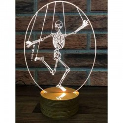 3D Skeleton Lamp