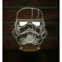 3D Star Wars Stormtrooper Lamp