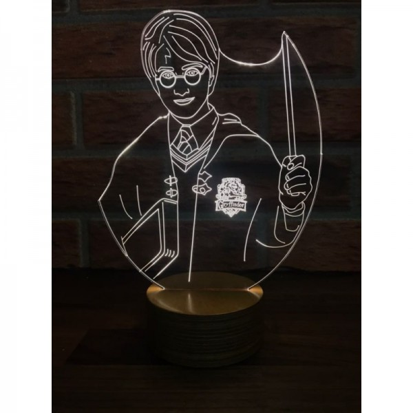 3D Harry Potter Lamp