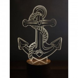 3D Anchor Lamp