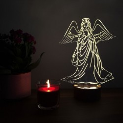 3D Angel Lamp
