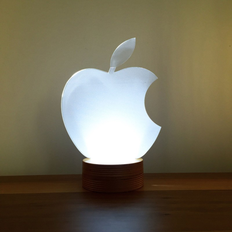 3d Apple Lamp Decorative Lamp Night Lamp Desk Lamp