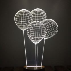 3D Balloon Lamp