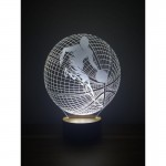 3D Basketball Ball Lamp