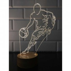 3D Basketball Player Lamp