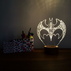 3D Batman Lamp