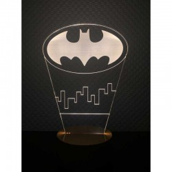 3D Batman Gotham Lamp