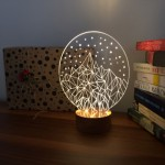 3D Crystal Iceberg Lamp