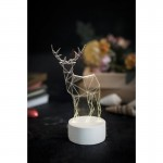 3D Deer New Lamp