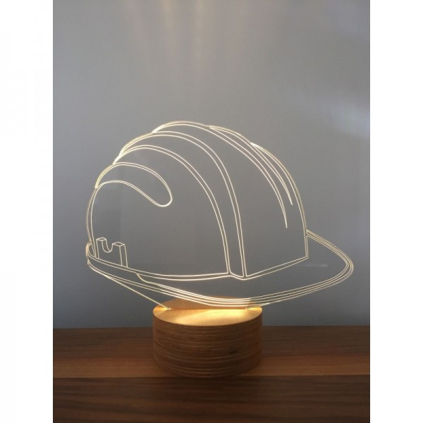 3D Engineer Helmet Lamp