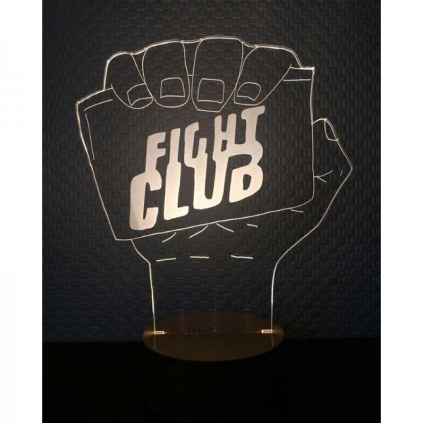 3D Fight Clup Lamp