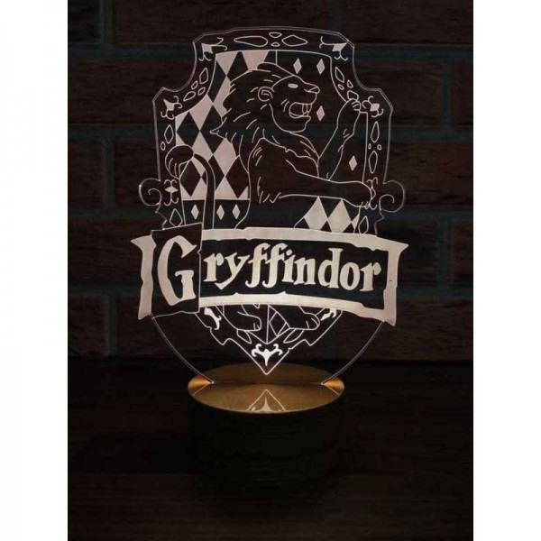 3D Harry Potter Gryffindor Lamp