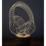 3D Headphone Lamp