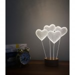 3D Heart Balloon New Lamp