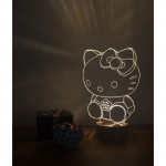 3D Hello Kitty New Lamp