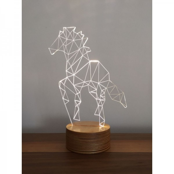 3D Horse New Lamp