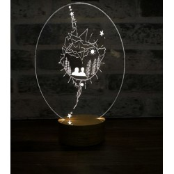 Life in the Universe Lamp