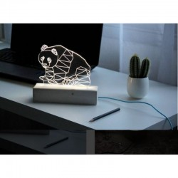 3D Little Panda Lamp
