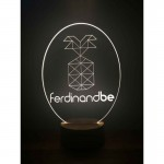 3D Customizable Logo Lamp