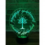 Lord of the Rings White Tree Lamp