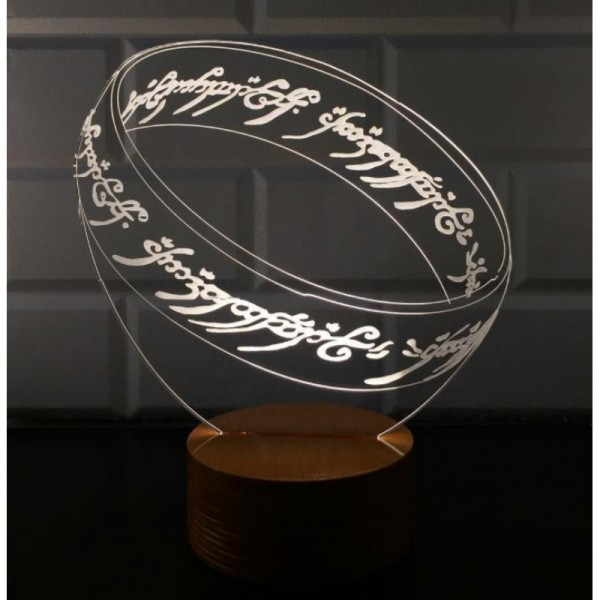 3D Lord Of The Rings Lamp