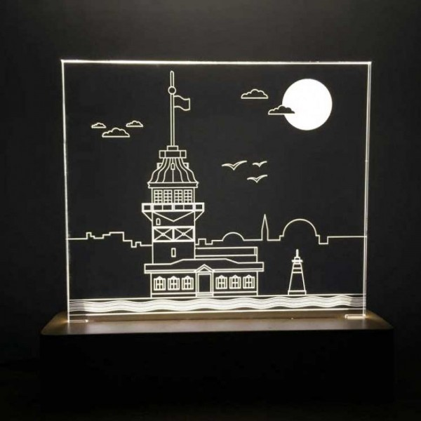 3D Maiden's Tower Lamp