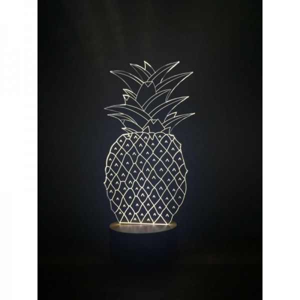 3D Pineapple Lamp