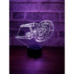 Star Trek Ship Lamp