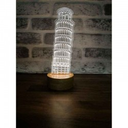 The Leaning Tower of Pisa Lamp
