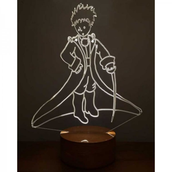 3D The Little Prince Lamp