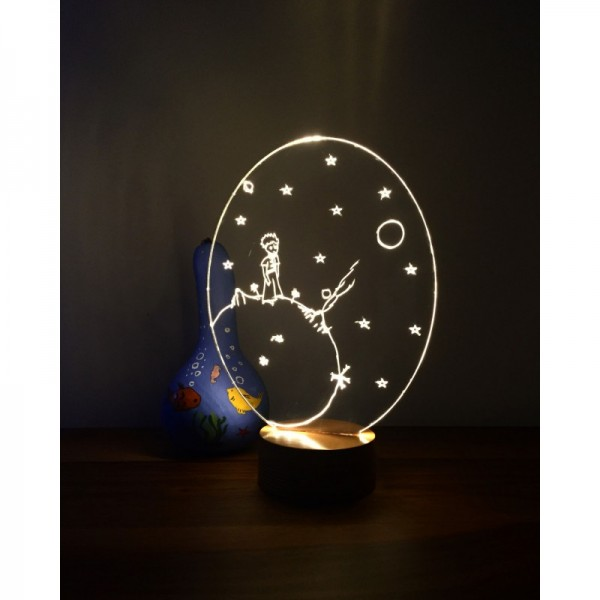 3D The Little Prince New Lamp