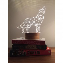 3D Wolf New Lamp