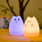Baby Room Lazy Cat Lamp