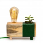 Picta Green Cactus Table Lamp