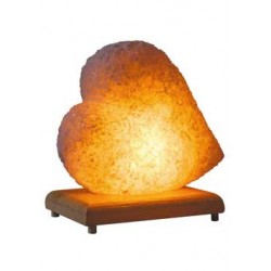 Heart Model Salt Lamp